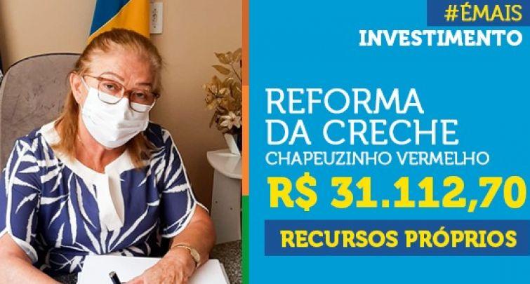 REFORMA DA CRECHE CHAPEUZINHO VERMELHO